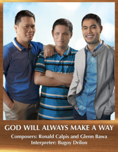 Bugoy Drilon: God Will Alwaysmake a Way